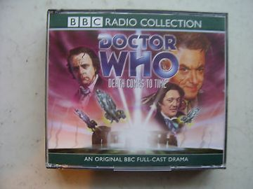 Doctor Who Death Comes to Time CD Audio Soundtrack